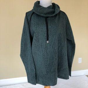 Kirkland olive turtleneck sweater
